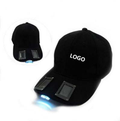 Solar Power LED Hat