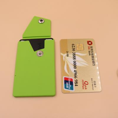 Pocket Smart Silicone Cell Phone Wallet Pocket