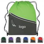 Fun Style Two-Tone Sports Drawstring Pack