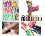 Hair Tie, Hand Wristband, Knotted Girl Hair Tiies