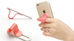 Phone holder for smartphone with ring