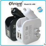 Multi-function charger adapter