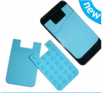 Silicone smart phone wallet II